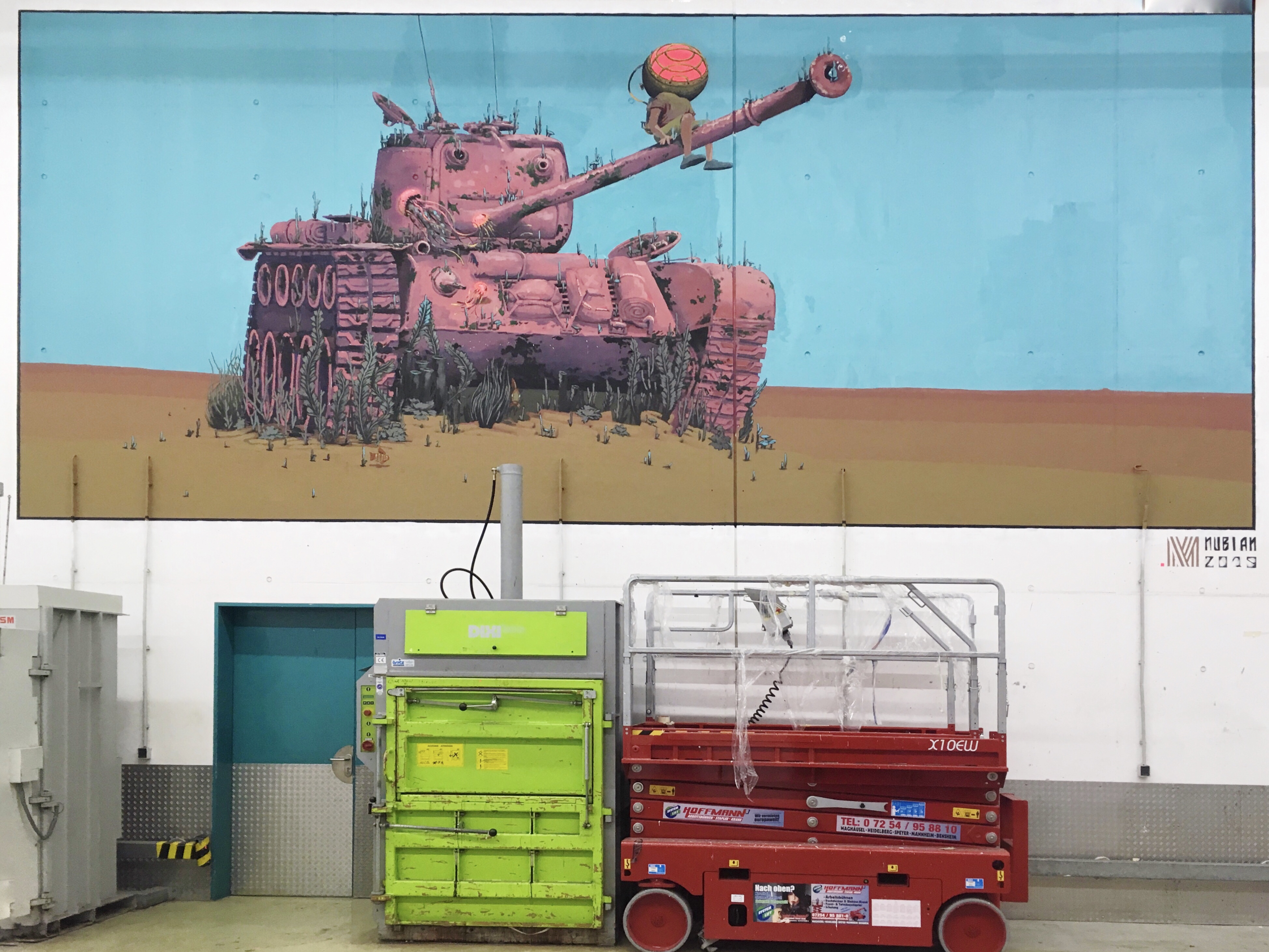 NUBIAN | Underwater tank | PX-Factory - METROPOLINK 2019