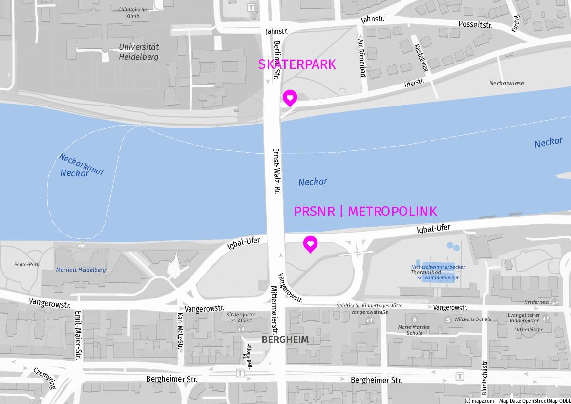 PRSNR | METROPOLINK 2020 mapz