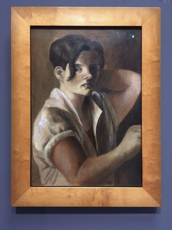 UMBRUCH HANNA NAGEL   Selbstbildnis 1929