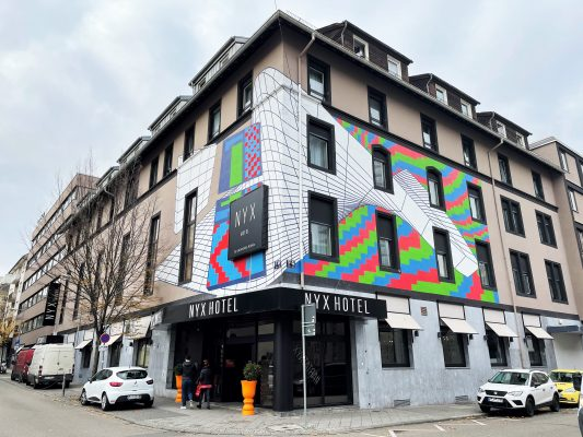 NYX Hotel | Demsky Fassade