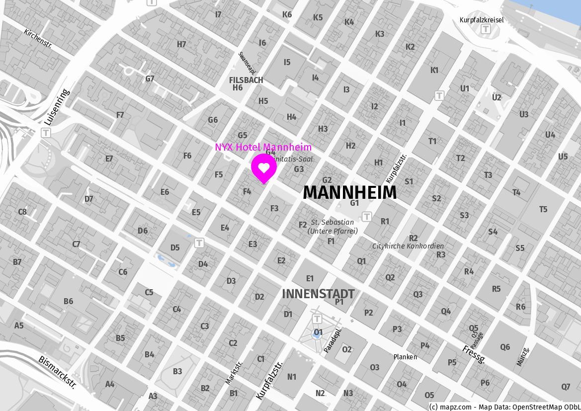 NYX Hotel Mannheim_F4, 4-11