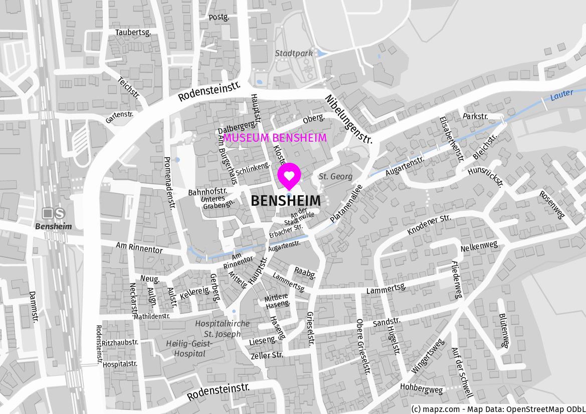 DANIEL HARMS MUSEUM BENSHEIM Marktplatz 13 64625 Bensheim